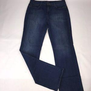 NYDJ Straight Leg Dark Wash Women's Size 10